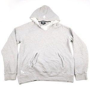 [ 10.DEEP ] Men's Gray Pullover Hoodie Jacket XL